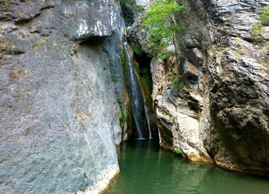 Poggio-Mezzana, France:                   La cascade conseillée à 15min de la loc