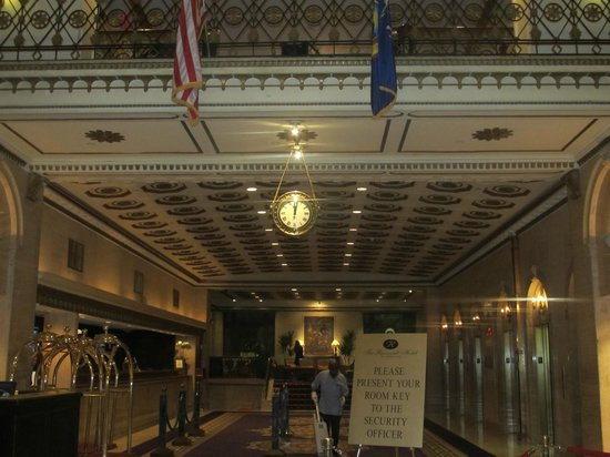 The Roosevelt Hotel:                   lobby area