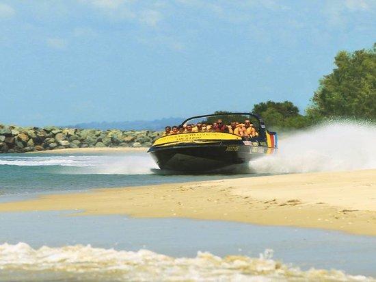 Paradise Jet Boating: Beach Buzzing