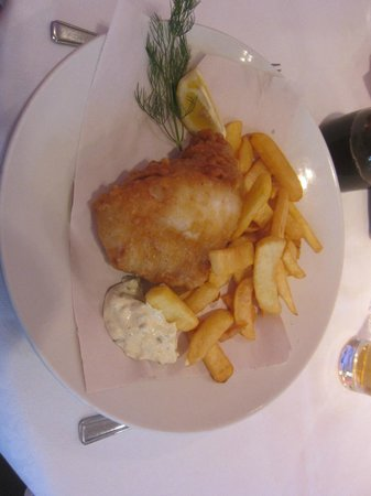 Rucola:                   Fish and Chips