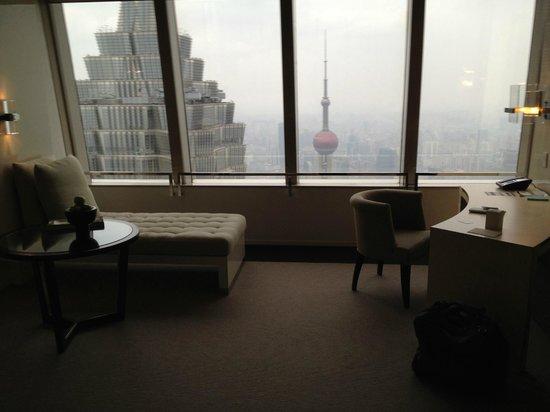 Park Hyatt Shanghai:                   Bund view