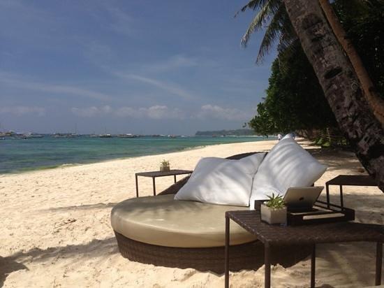 Asya Premier Suites: plage de asya premier