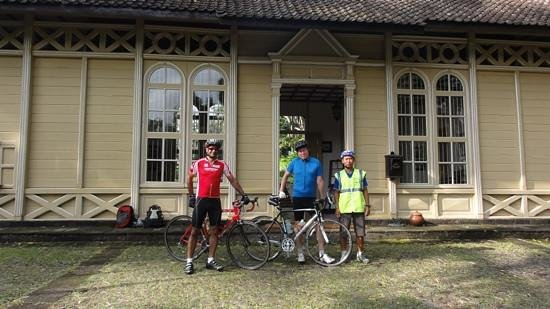 MesaStila Resort and Spa:                                     off for a morning ride with our assistant