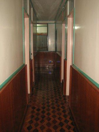 Banaue Homestay:                                     couloir étage
