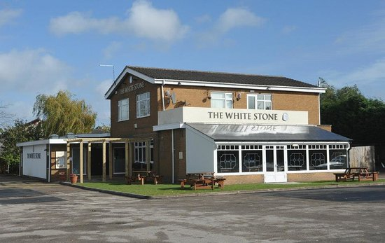 Nuneaton, UK :                   The White Stone