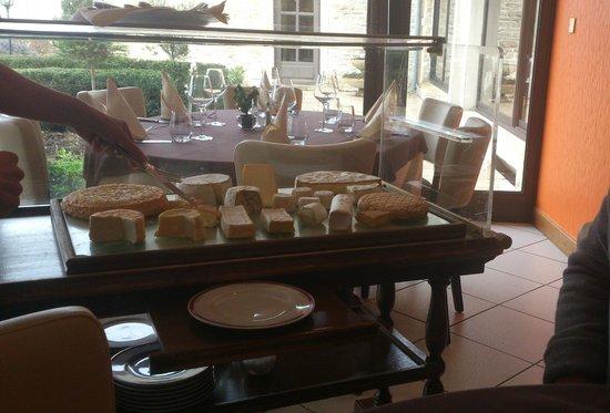 Le Relais de la Diligence :                   Un plateau de fromage...