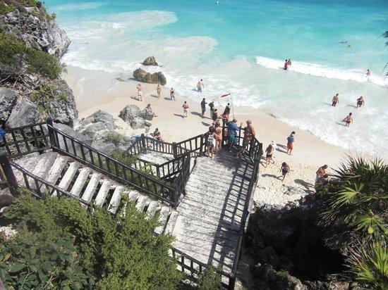 Cabanas Zazilkin:                                     tulum maya ruine