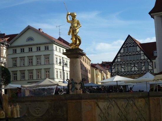 Steigenberger Hotel Thüringer Hof:                   Old fashioned town centre five minutes walk ...