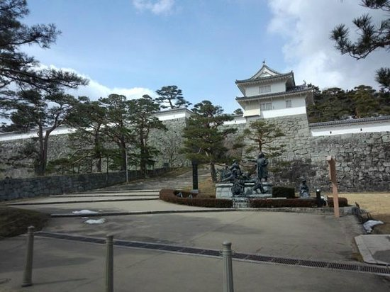The ruins of Nihonmatsu Castle:                   NO1