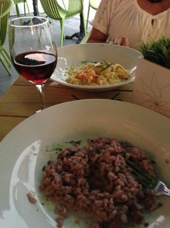Anamu Bar & Restaurant: Risotto's