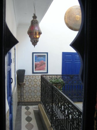 Riad Dar Tiflet:                   the view from our lovely room