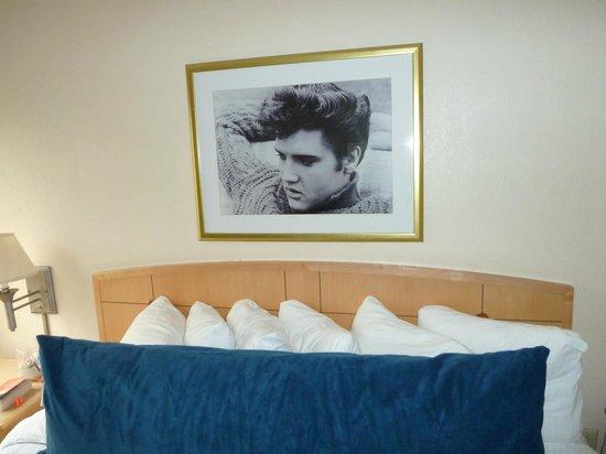 Elvis Presley's Heartbreak Hotel: Above my bed
