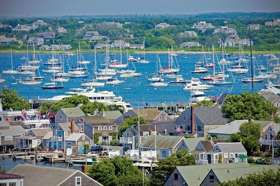 Nantucket, MA :                   .