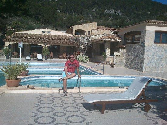 Hotel Rural & Spa Monnaber Nou:                   piscina