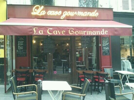 La cave gourmande paris 96 rue des martyrs montmartre for Restaurant miroir rue des martyrs