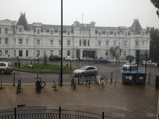 Royal Bath Hotel & Spa:                   Pic taken from prezzo across the road
