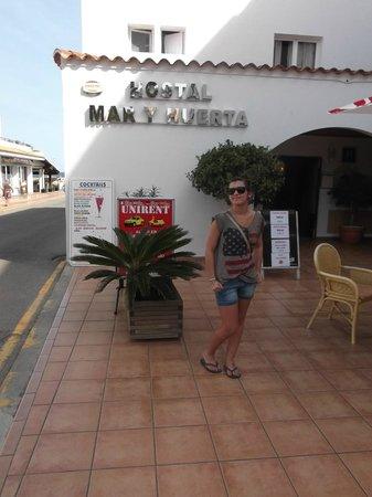 Hostal Mar y Huerta: Ingresso Hotel