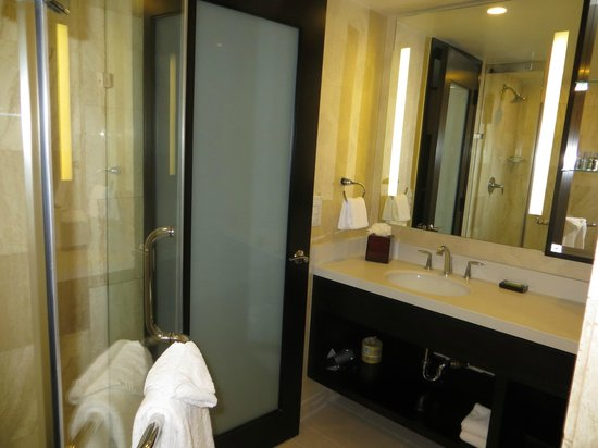 The L.A. Hotel Downtown: Bathroom 1017