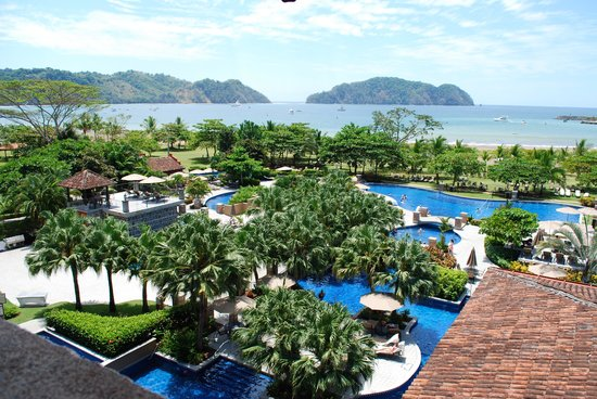 Los Suenos Marriott Ocean & Golf Resort:                                     View from 4th floor