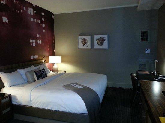 Grand Hyatt New York: King bed