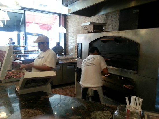 Libretto's Pizzeria & Restaurant:                   Oven area