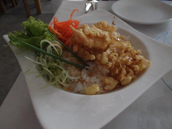 Mali Seafood Restaurant & Bar:                   Shrimp Tempura #69 on the menu