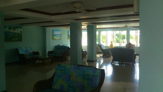 Dover Beach Hotel lobby