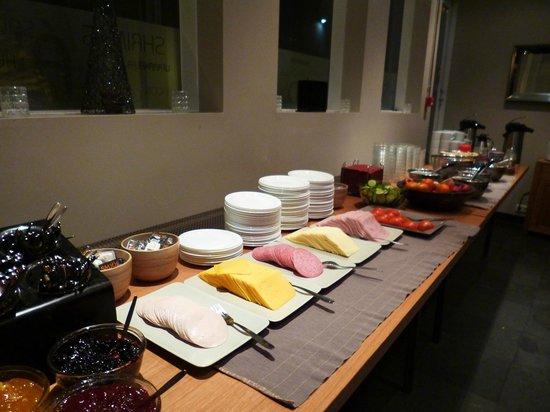 Hotel Fron:                   breakfast                 