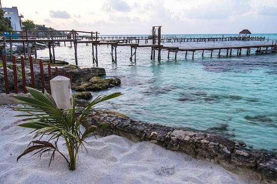 Maria's Kan-kin: Hotel's Beach and the Amazing Reef Full of Every Tropical Fish You Can Think Of