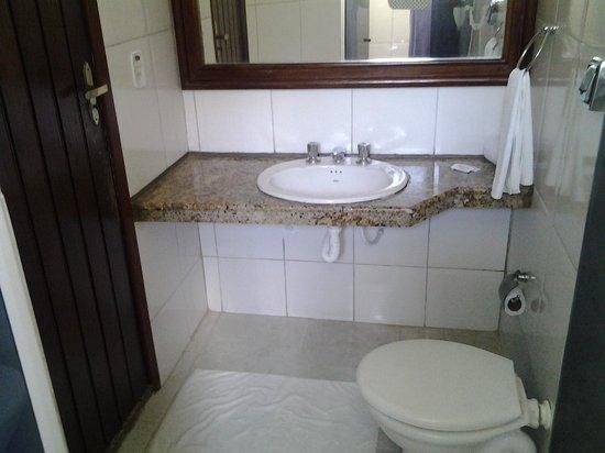 Hotel Ponta de Areia:                   banheiro