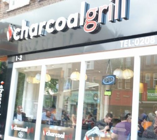 charcoal grill wood green opening times
