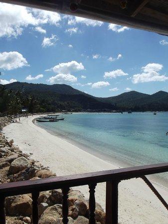 Fantasea Resort :                   La vue depuis le restaurant