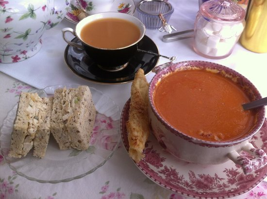 The ANZAC Tea Parlour:                   Their homemade soups are Wonderful!!