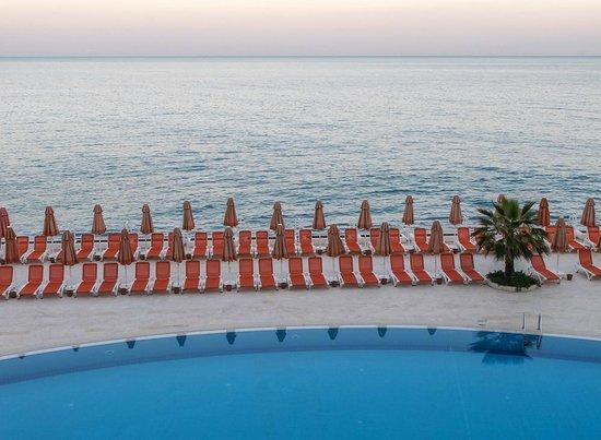 Yelken Blue Life Spa & Wellness Hotel:                   Blick aus dem Zimmer