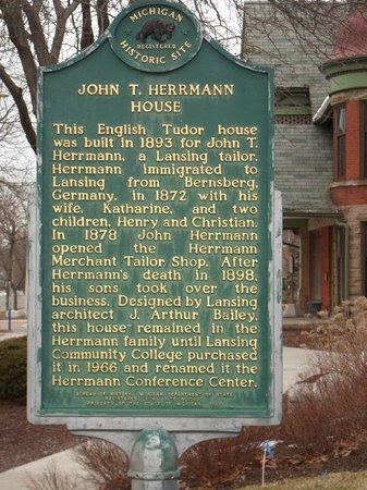 John T. Herrmann House Historical Marker