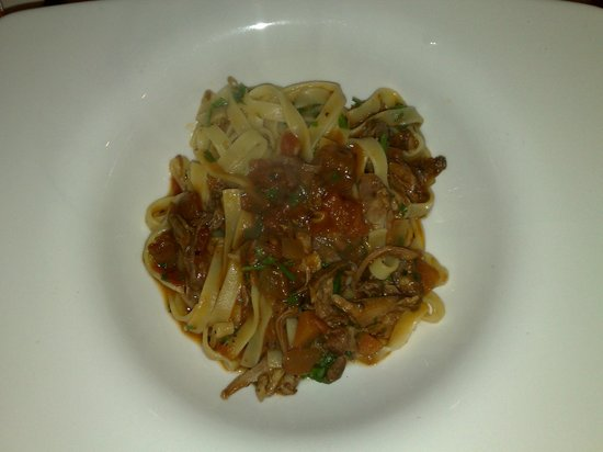 The Lord Nelson Restaurant:                   Tagliatelle with duck ragu