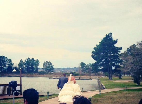 La Torretta Lake Resort & Spa:                   End of Ceremony in Wedding Circle