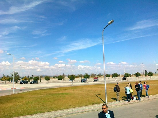 Medina Belisaire & Thalasso: Enfidha Airport - lovely and sunny the day we arrived