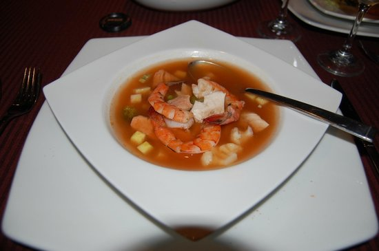Hotel Playa Mazatlan:                                     soup in a la carte