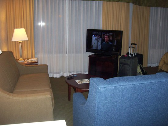 Comfort Suites South Burlington: living room