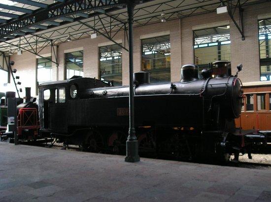 Museo del Ferrocarril: Tren