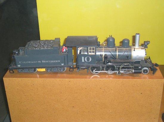 Museo del Ferrocarril: Tren en miniatura