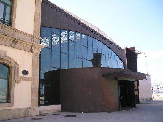 Museo del Ferrocarril: Entrada
