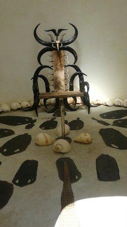Baan Dam Museum:                                     Horn Chair