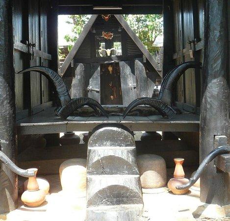 Baan Dam Museum:                                     Inside
