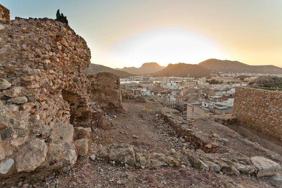 Teatro Romano:                   Parts of the acient roman city