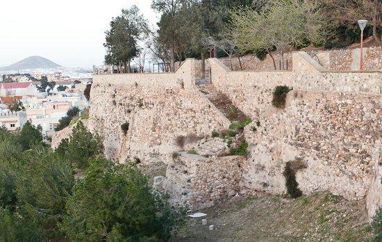 Teatro Romano:                   Parts of the Roman City