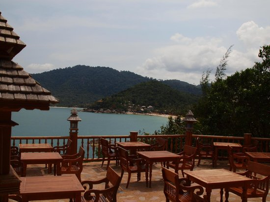 Santhiya Koh Phangan Resort & Spa:                   View from breakfast restaurant