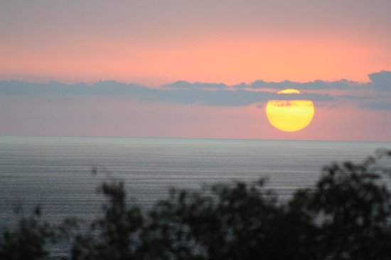 Hotel Costa Verde:                   Sunset from the pool