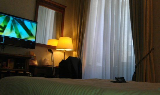 Empire Palace Hotel:                                     My room on second floor